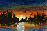 Canadian Geese Mixed Media - Paradise by R Kyllo