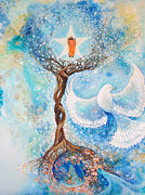 Dream Scape Originals - Paramhansa Yogananda - Mist by Ashleigh Dyan Moore