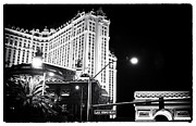 The Strip Framed Prints - Paris Casino at Night IV Framed Print by John Rizzuto