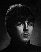 Mccartney Paintings - Paul McCartney by Stu Braks