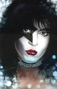 Army Paintings - Paul Stanley by Luis  Navarro