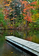 Solace Framed Prints - Peaceful Autumn Day Framed Print by Robert Harmon