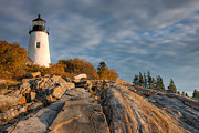 Clarence Holmes - Pemaquid Point Light VI