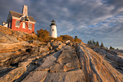 Clarence Holmes - Pemaquid Point Light VII