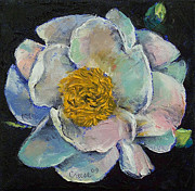 Flor Paintings - Peony by Michael Creese