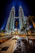 Adrian Evans - Petronas Twin Towers