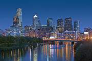 David  Zanzinger - Phila PA Night Skyline Reflections...
