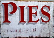 Pies Fine Art Print by Barbara McDevitt