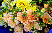  Large Format Prints - Pike Market Flowers Print by Greg Sigrist
