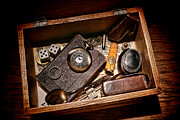 Artifact Photos - Pioneer Keepsake Box by Olivier Le Queinec
