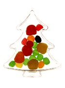Bernard Jaubert - Plastic Christmas tree containing sweet