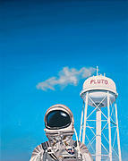 Science Fiction Art - Pluto by Scott Listfield
