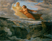 Famous Artists - Poem of the Soul The Ideal by Louis Janmot