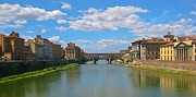 John Malone - Ponte Vecchio over the Arno River at Florence Italy