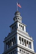 Wingsdomain Art and Photography - Port of San Francisco Ferry Building on...