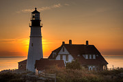 Clarence Holmes - Portland Head Light at Sunrise III