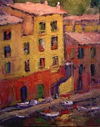 R W Goetting Framed Prints - Portofino afternoon Framed Print by R W Goetting