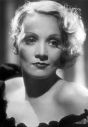 Movie Stars Photos - Portrait Marlene Dietrich by Underwood Archives