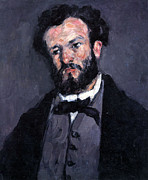 John Peter Art - Portrait of Antony Valabrgue by Cezanne by John Peter