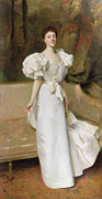 Evening Dress Painting Prints - Portrait of the Countess of Clary Aldringen Print by John Singer Sargent