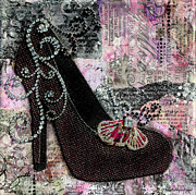 Janelle Nichol - Purple Shoes with bu...