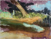 Painted Pastels - Quiet Water by Tim  Swagerle