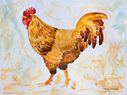 Barbara McMahon - Rainy Day Rooster