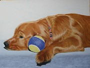 Retriever Pastels - Ranger by Laurie Cartwright