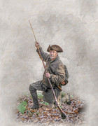 Randy Steele - Ranger Reloading At Schoenbrunn Village