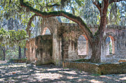 Chappel Prints - Rear View of the Chapel Of Ease Print by Scott Hansen