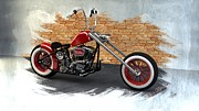 Louis Digital Art - Red Bobber by Louis Ferreira