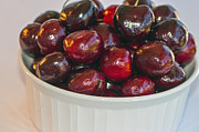 Bing Art - Red Red Cherries by Sharon  Talson