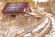 Debra and Dave Vanderlaan - Red Roof in the Snow