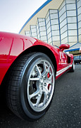 Sportscar Originals - Red Sport Car Wheel  by Ioan Panaite