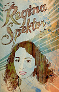 Vocalist Digital Art Originals - Regina Spektor by Jackson