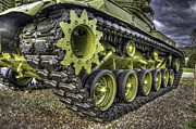 Olive Drab Prints - Retired Tank 2 Print by David Kawchak