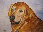 Stella Sherman - Retriever in His Golden Years