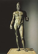 Greek Warrior Art - Riace Bronze Or Riace Warrior. Ca.  460 by Everett