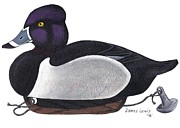 James Lewis - Ring-neck Duck Decoy