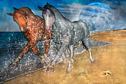 Trotting Art - Rising Inspiration  by Betsy A Cutler East Coast Barrier Islands