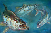 Scarpace Paintings - Robalo by Tom Dauria