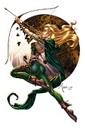 Tinker Bell Framed Prints - Robyn Hood 01H Framed Print by Zenescope Entertainment