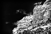Ledge Prints - Rock Ledge in Sedona Print by John Rizzuto