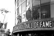 Hall Of Fame Framed Prints - Rock N Roll Hall of Fame Framed Print by Tracy Evans