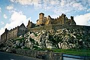 Stone Chimney Prints - Rock of Cashel Castle Ireland Print by Douglas Barnett