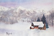 Ann Sokolovich - Rocky Mountain Winter