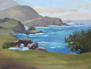 Bixby Bridge Originals - Rocky Point Big Sur by Karin  Leonard
