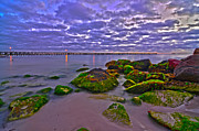 Enterprise Metal Prints - Rocky Shore Metal Print by Sally Nevin