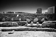 Roman Ruins Posters - Roman Circus Ruins Of Tarraco Unesco World Heritage Site Tarragona Catalonia Spain Poster by Joe Fox