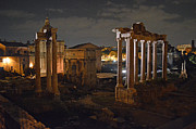 Nancy Bradley - Roman Forum at Night 2